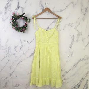 New Look Ruffle Hem Midi Dress